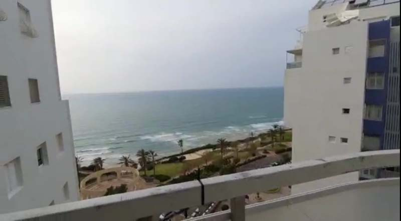 For Sale in Netanya Renovated with a balcony overlooking the sea